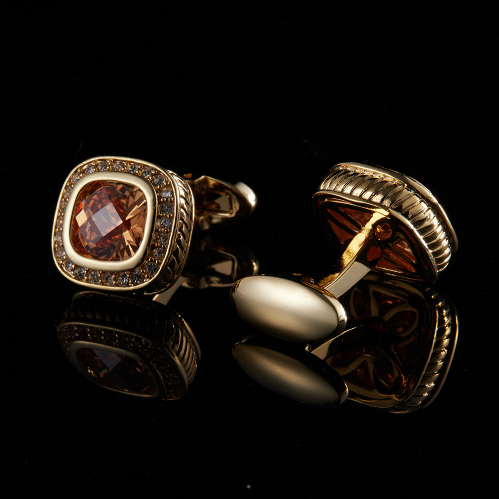 high quality red jewelry custom cufflinks