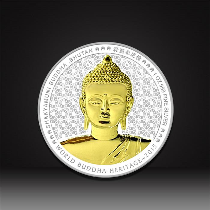 Buddhism religion challenge coins