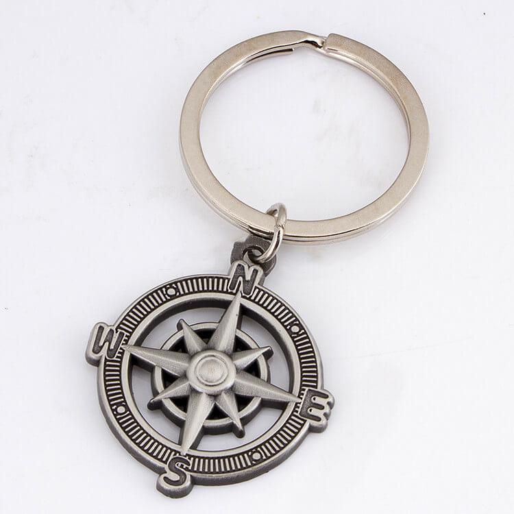 Custom die-casting keychains
