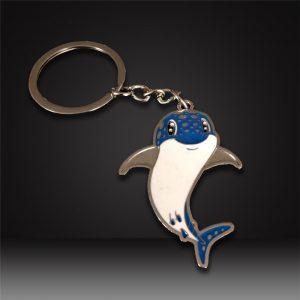dolphin Custom hard enamel Keychains
