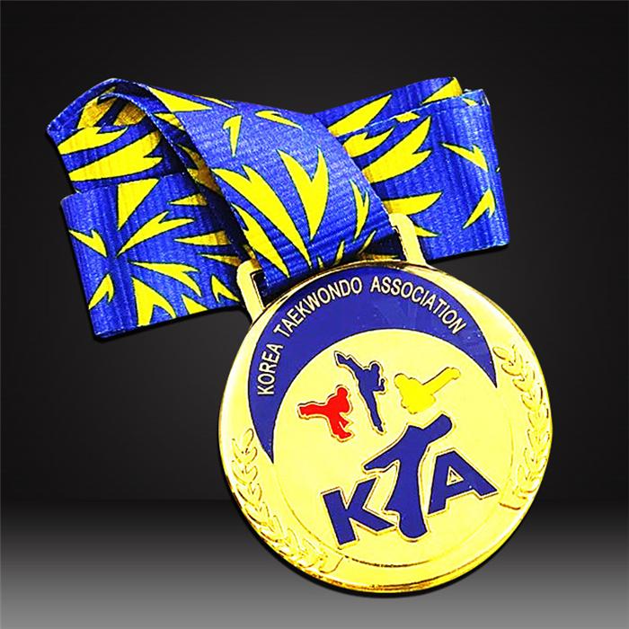 custom karate medals -2