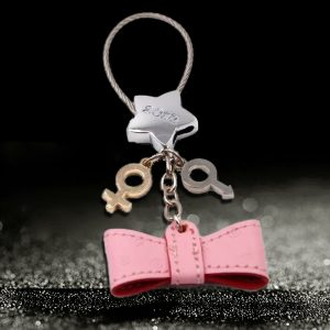 Custom leather keychains with your logo