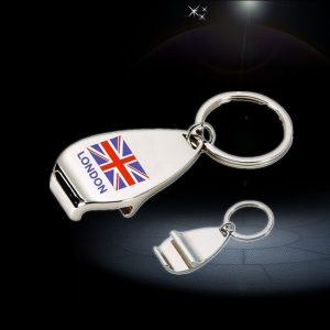 UK flag bottle opener Keychain