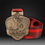 cycling medal 3D die-casting