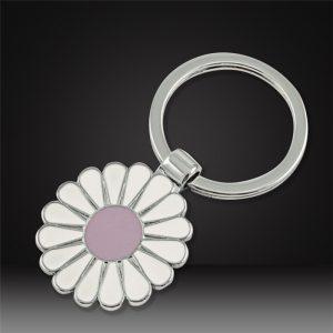 Custom hard enamel Keychains flower