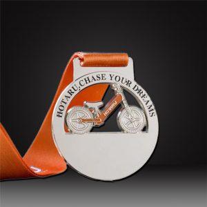 custom bike medals
