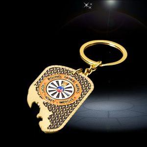 logo cartoon custom bottle opener Keychain