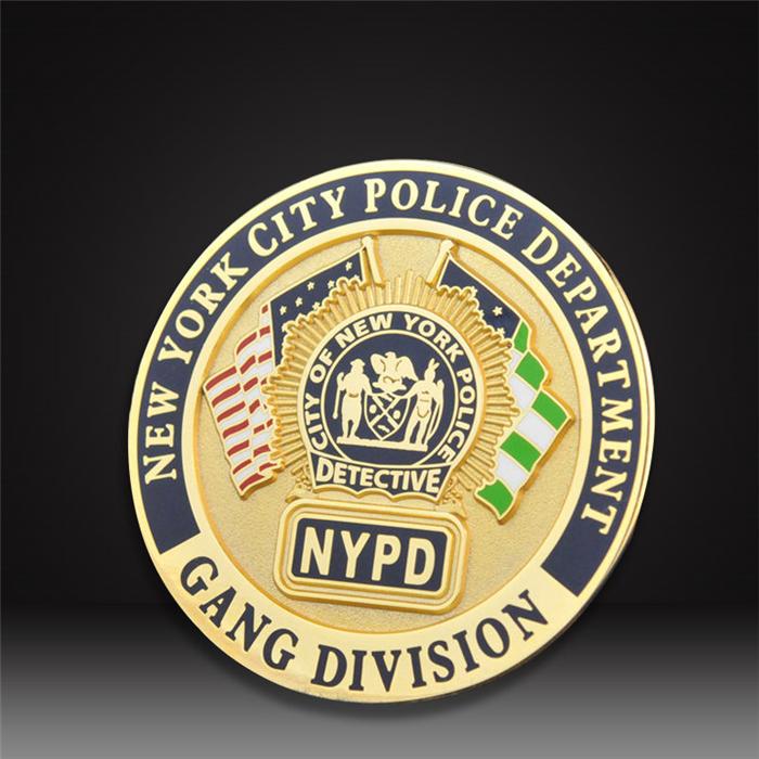 police Department custom challenge coins