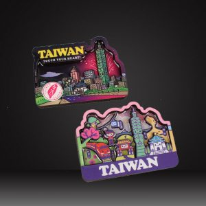 Taiwan souvenir fridge magnet