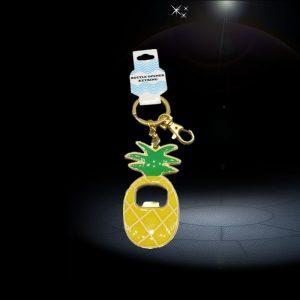 pineapple custom bottle opener Keychain