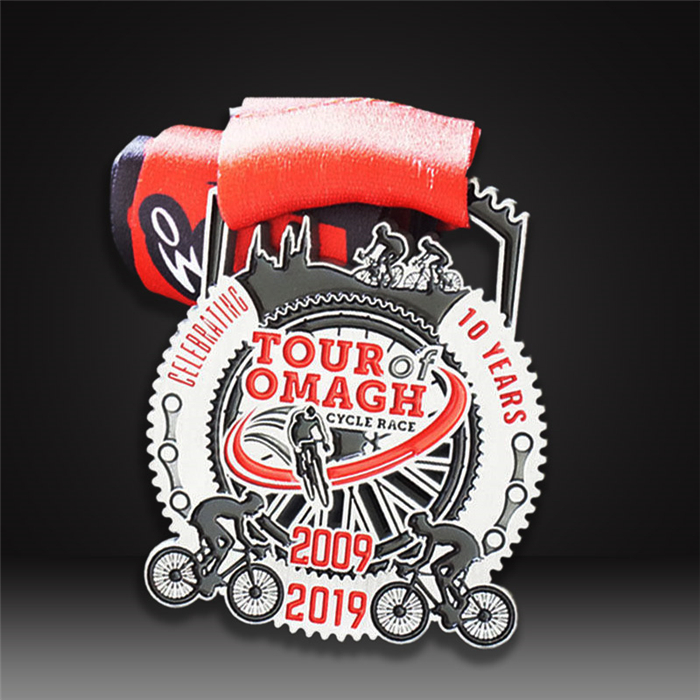 custom medals cycling race