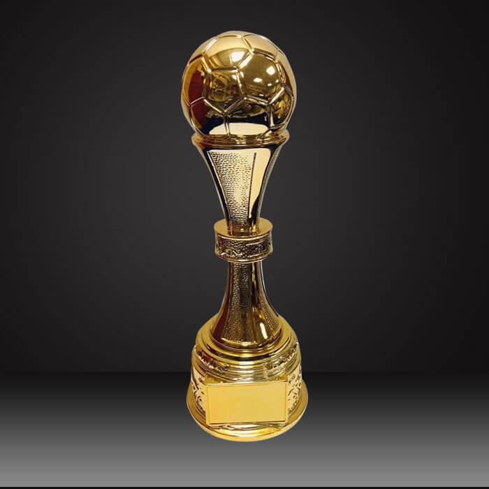 Resin football custom trophy