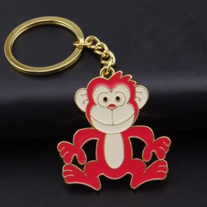 custom cartoon Keychain monkey