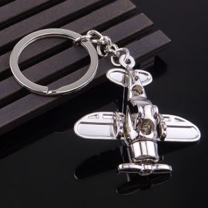 Custom 3D keychains airplane