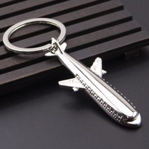 Custom 3D keychains plane