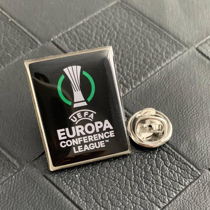 Silkscreen printing custom lapel pins