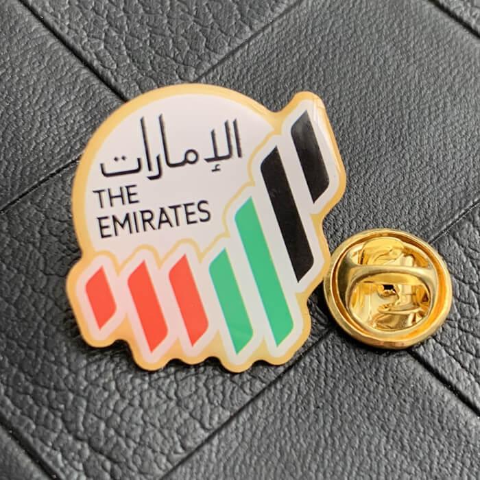 Custom printing lapel pins Saudi Arabia