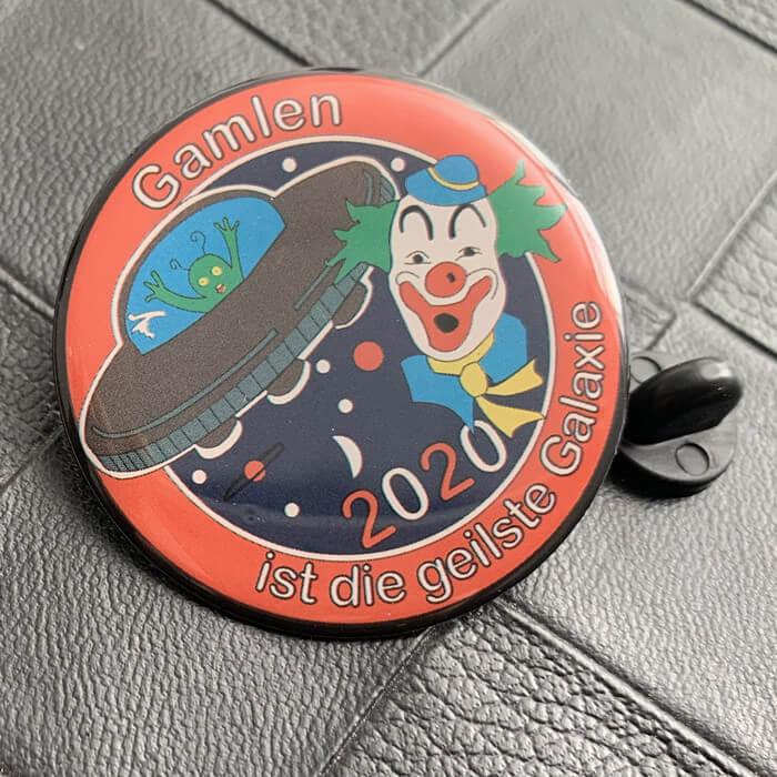 Custom printing lapel pins