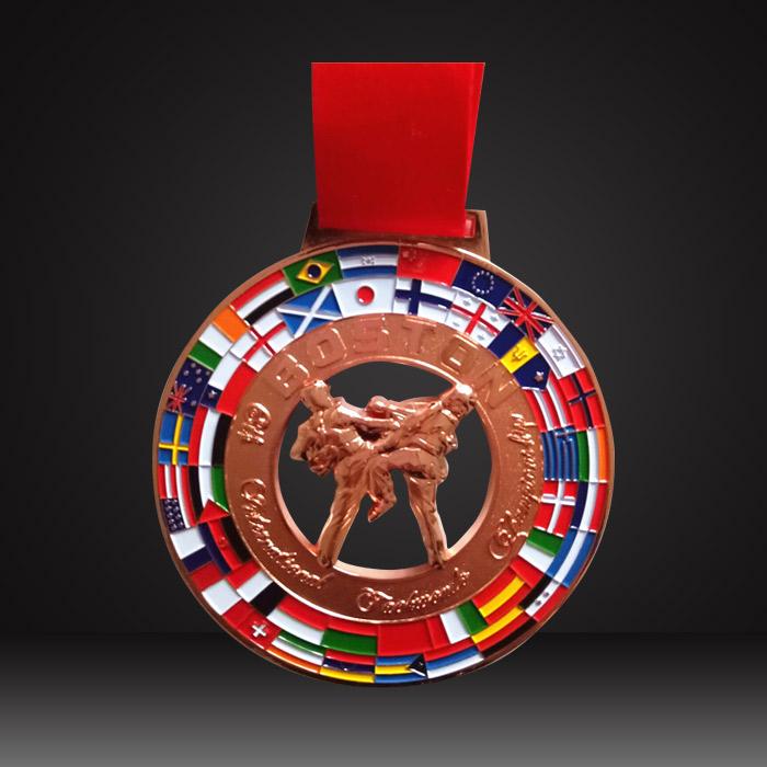 custom taekwondo medals