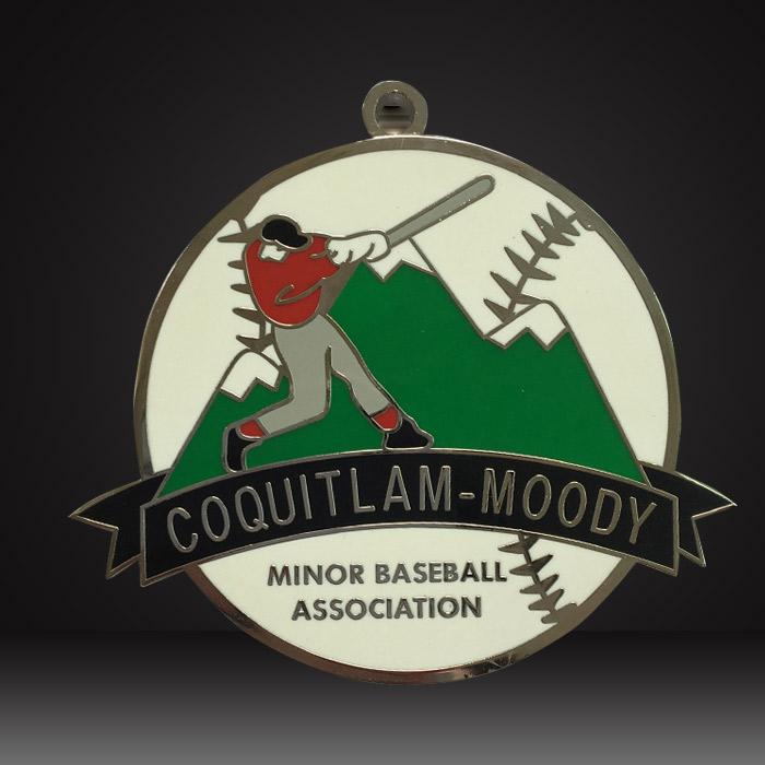 custom baseball medals hard enamel