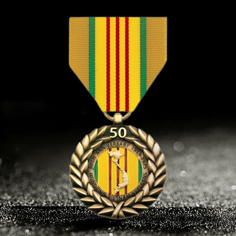 50 years service medal awards