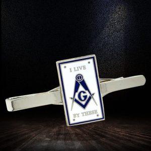 freemason tie clips