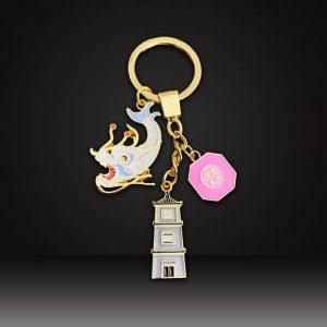soft enamel custom Keychains