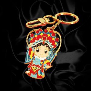 Custom hard enamel Keychains