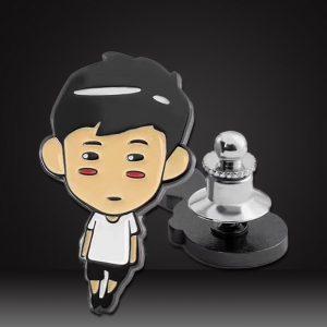Custom hard enamel Pins for young boy