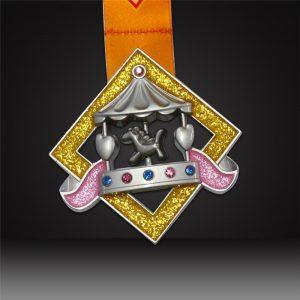 custom spinning medals Carousel Children's Day Medal forchildren