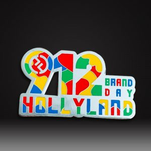 custom logo hard enamel pin badges