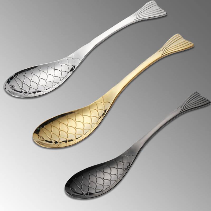 custom metal spoon