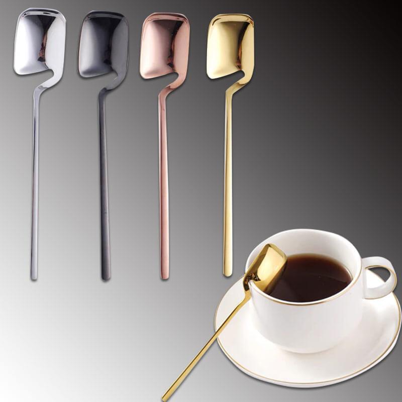 Stainless steel coffee spoon custom