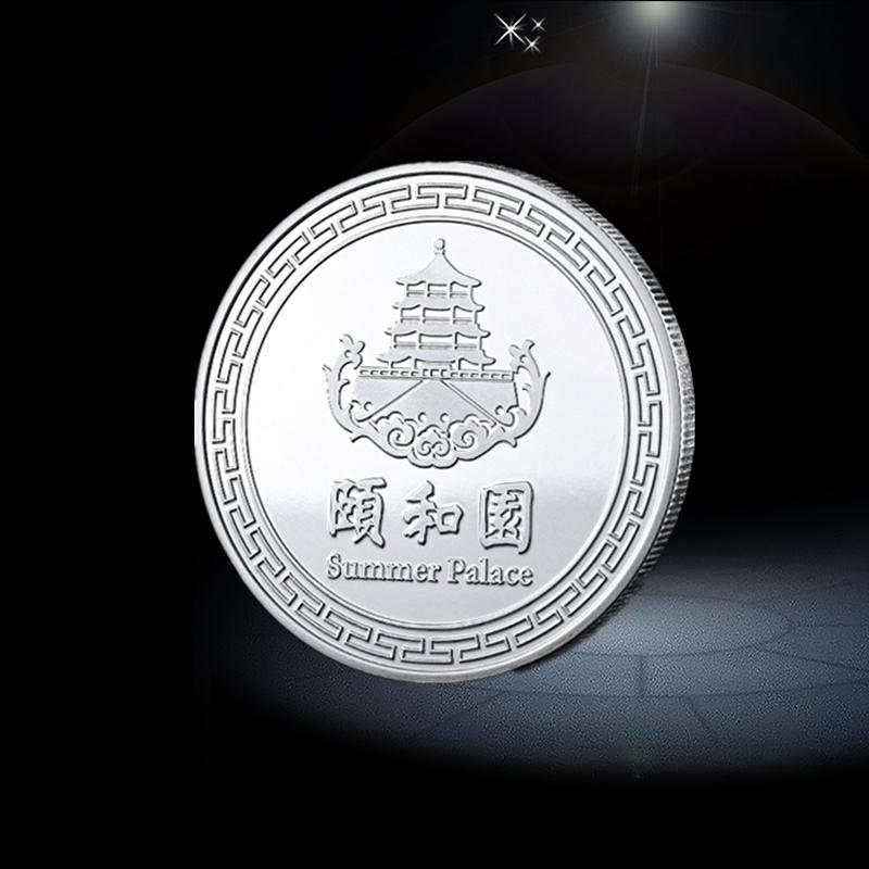 custom coins silver material