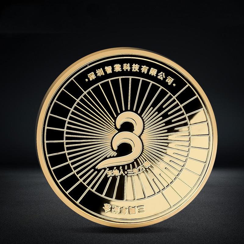 custom coins 18K gold