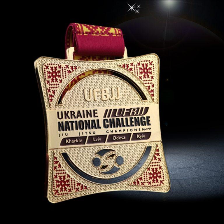 custom champion medals