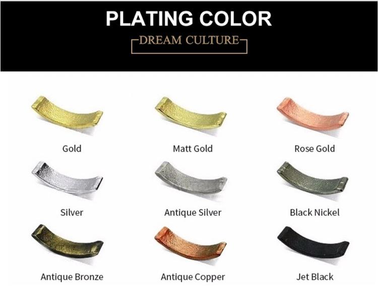 medal manufacturer plating color